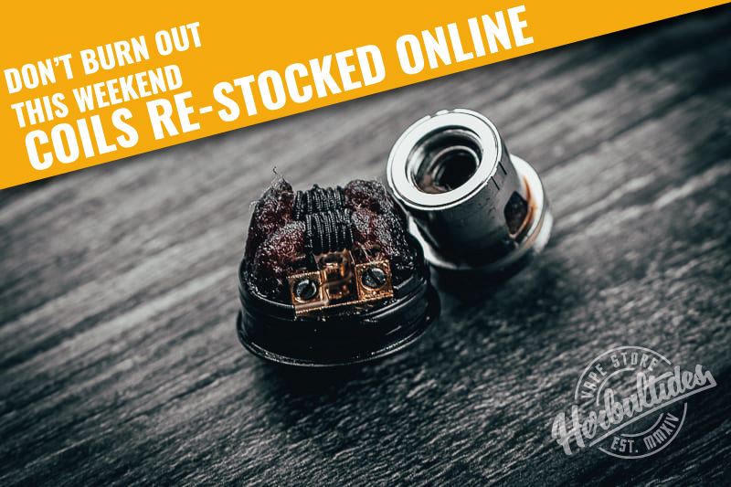 Coils Now Restocked