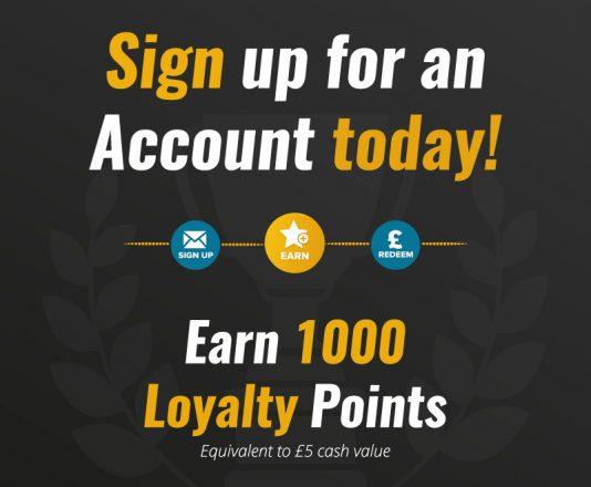 Loyalty Scheme Sign Up