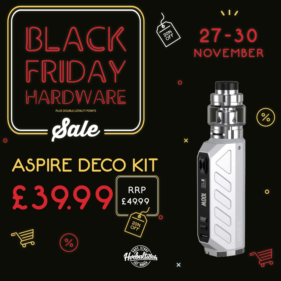 Aspire Deco Kit Black Friday Deal
