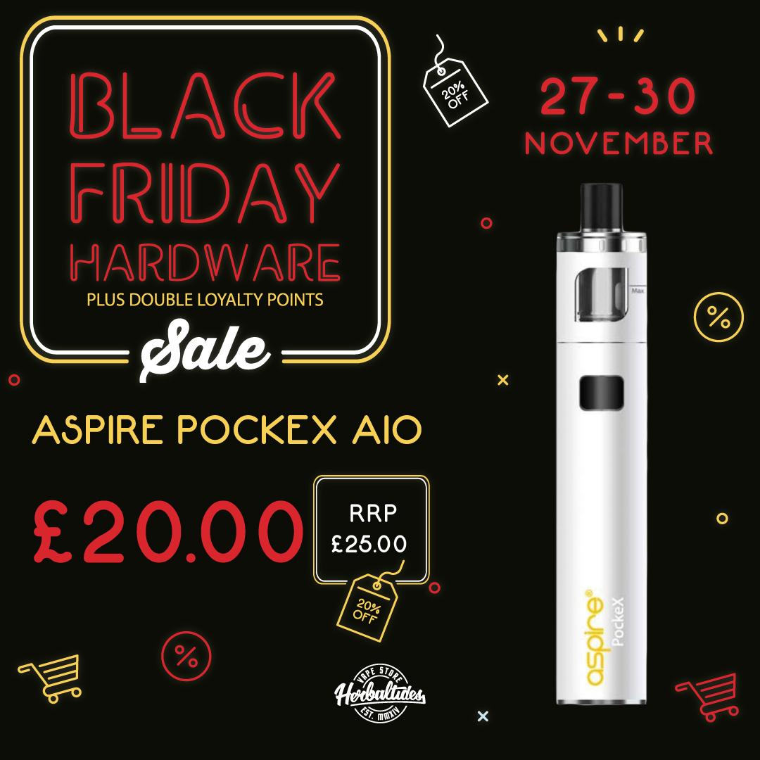 Aspire Pockex Black Friday Deal