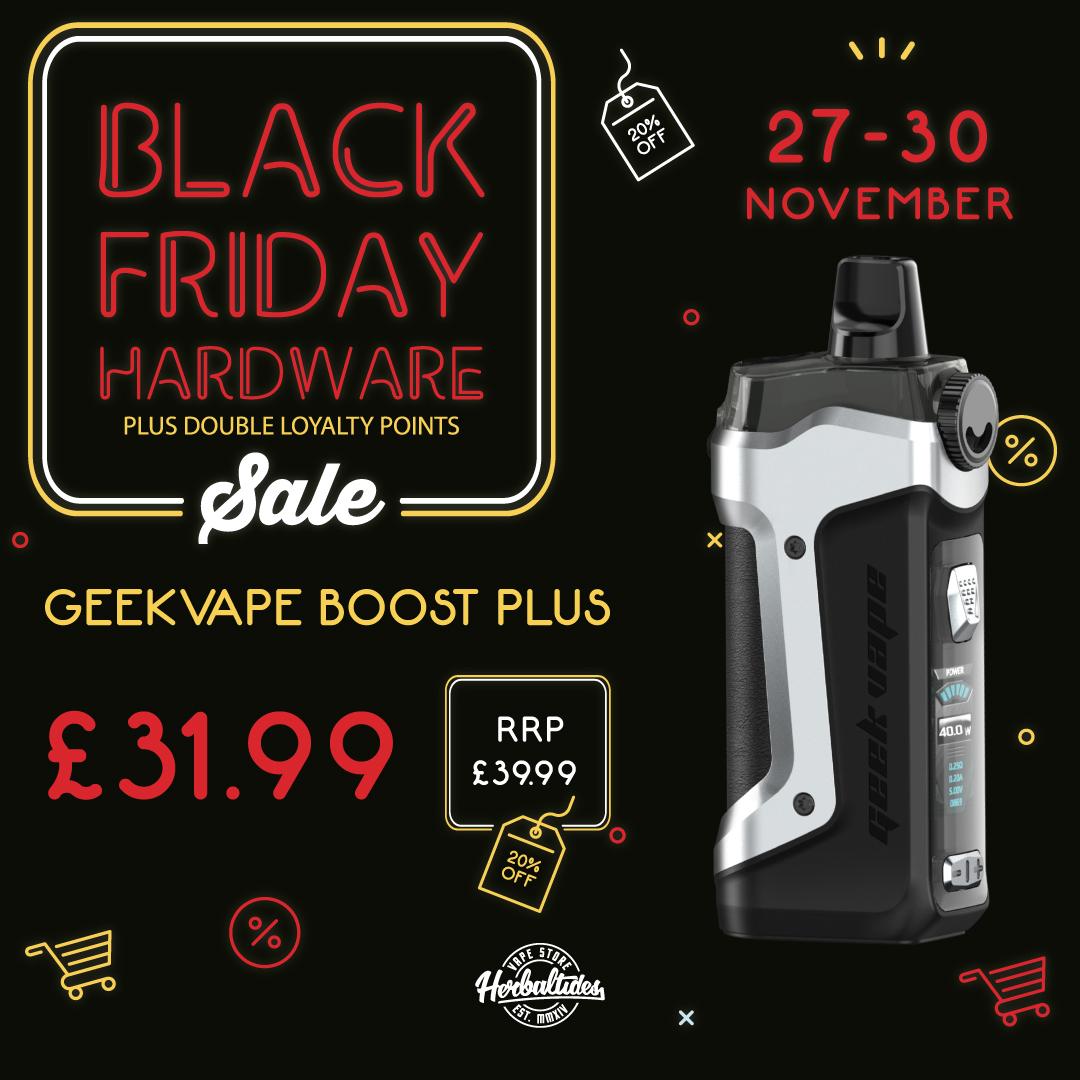 Boost Plus Black Friday Deals