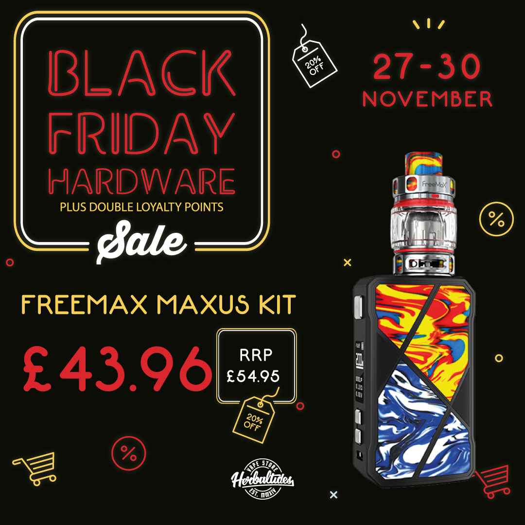 Black Friday 2020 Vape Hardware Sale