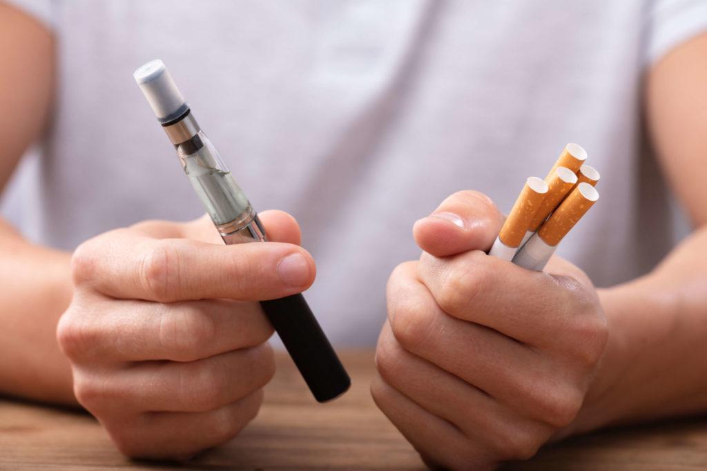 Benefits of Vaping vs Smoking