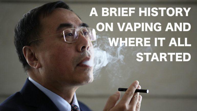Hon Lik And Vaping History
